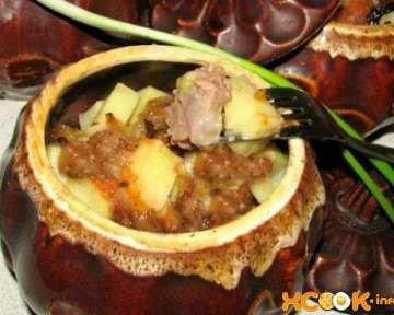 Азу в горшочках в духовке – пошаговый рецепт с фото, как приготовить в домашних условиях по-татарски