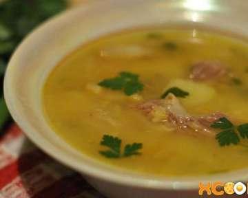 Гороховый суп с мясом – пошаговый рецепт с фото, как приготовить в домашних условиях