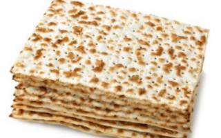История происхождения мацы, описание с фото; как приготовить традиционный еврейский хлеб в домашних условиях; блюда из продукта