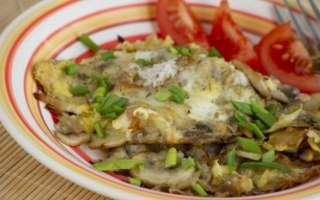 Французская яичница с грибами, сыром и луком – пошаговый рецепт с фото, как приготовить на сковороде
