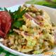 Вкусный салат с капустой, горошком и копченой колбасой – как приготовить в домашних условиях, простой рецепт с пошаговыми фото