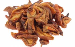 Сушеные груши — их польза и вред, показатель калорийности