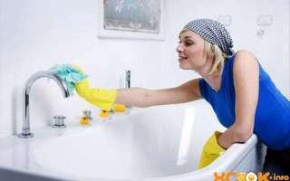 Как в домашних условиях сделать ванну белоснежной (чугунную или акриловую)? — текстовая и видео инструкция