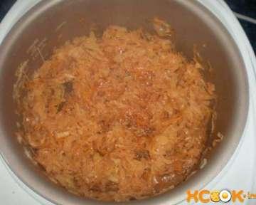 Как приготовить вкусную тушеную капусту в мультиварке – пошаговый рецепт с фото