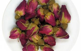 Бутоны роз – описание с фото; их свойства (польза и вред) и использование в кулинарии и для лечения; чай из бутонов роз