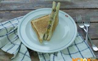 Простой и вкусный сэндвич с консервированным тунцом, красной фасолью и сыром – рецепт приготовления с пошаговыми фото в домашних условиях