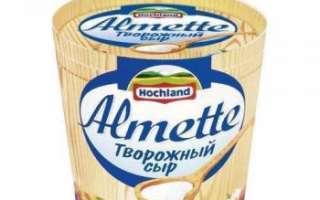 Состав сливочного или творожного сыра Альметте (Almette), его калорийность, приготовление в домашних условиях, а также рецепты с этим продуктом