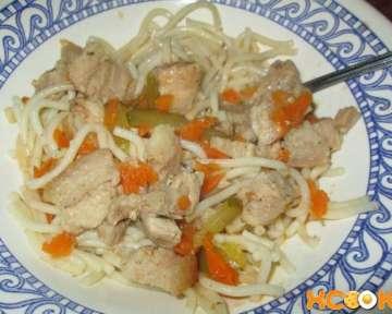 Азу из свинины с солеными огурцами по-татарски – пошаговый рецепт с фото приготовления в домашних условиях