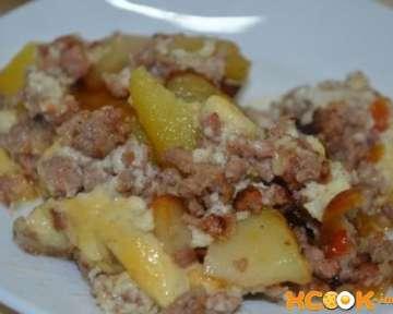 Греческая мусака с картофелем и фаршем – пошаговый фото рецепт приготовления в домашних условиях