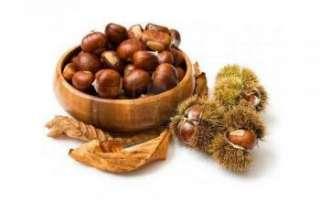 Каштан жареный — калорийность, полезные свойства и рецепты
