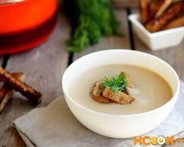 Грибной суп-пюре со сливками – пошаговый рецепт с фото приготовления в домашних условиях