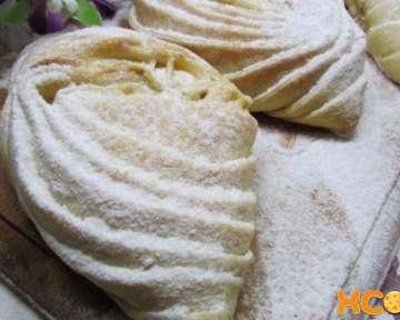 Пошаговый рецепт приготовления с фото азербайджанской сладкой выпечки бадамбура