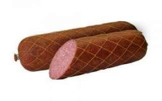 Состав колбасы сервелат и отличитльные черты с фото, её калорийность; как выбрать качественную копченую колбасу