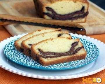Кекс с «Нутеллой» – пошаговый рецепт приготовления с фото в домашних условиях