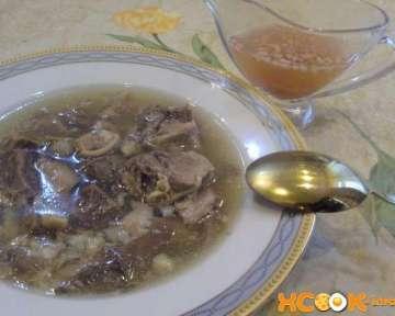 Грузинский суп Хаш — рецепт с фото, как приготовить из баранины