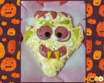 Праздничная пицца Дракула — рецепт с пошаговыми фото приготовления на Хэллоуин