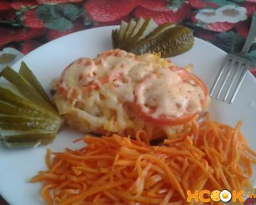 Вкусная свинина по-царски с помидорами и сыром – пошаговый фото рецепт, как приготовить в духовке