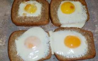 Запеченное яйцо в хлебе в духовке – рецепт с пошаговыми фото, как приготовить быстро и вкусно