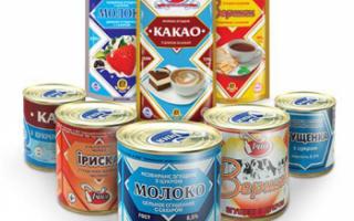 Производство и классификация молочных консервов, их пищевая ценность и срок хранения; применение продукта в кулинарии