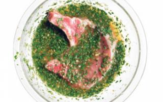 Маринад для свинины — быстрый рецепт для шашлыка, запекания или жарки мяса