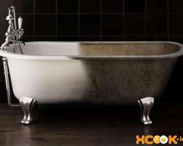 Как можно обновить старую чугунную ванну в домашних условиях (с помощью акрила, вкладыша или эмалировки)?