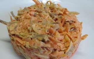 Вкусный салат из говядины с морковью и сыром – как приготовить в домашних условиях, простой рецепт с пошаговыми фото