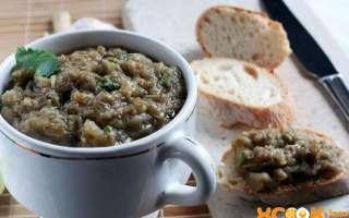 Рецепт приготовления самой вкусной домашней баклажанной икры с фото