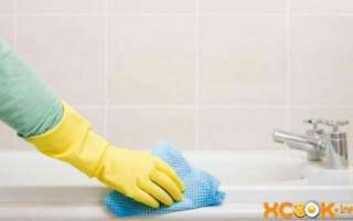 Как и чем лучше всего можно отмыть в домашних условиях акриловую ванну (химическими и народными средствами)?