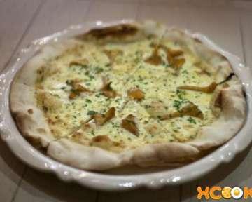 Пицца с лисичками – пошаговый рецепт с фото, как приготовить в домашних условиях
