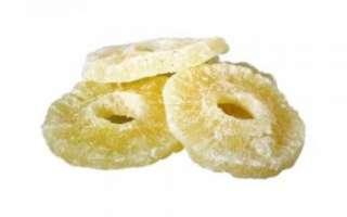 Цукаты из ананасов – описание с фото сушеных ананасов; их польза и вред; калорийность цукатов; рецепт, как делают в домашних условиях