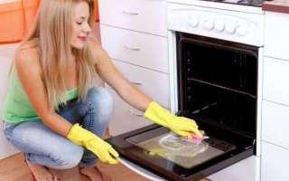 Чем и как в домашних условиях отмыть пригоревшую духовку внутри от старого жира и нагара, используя специальные и народные средства?