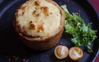 Мясной пай с грибами и картофелем — рецепт с фото приготовления традиционного английского пирога