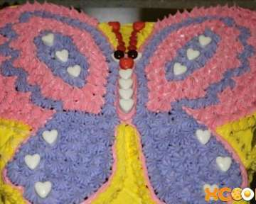 Торт в виде бабочки – рецепт с фото, как его сделать своими руками