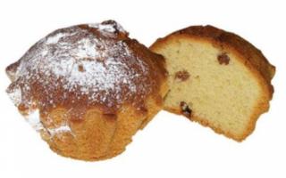 Кекс — калорийность, польза, вред и рецепты