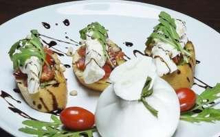 Вкусная брускетта со сливочным сыром и помидорами – приготовление по итальянскому рецепту с пошаговыми фото в домашних условиях