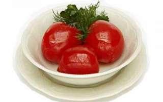 Маринованные помидоры — польза и вред
