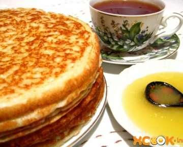 Простые пшенные блины дрожжевые – пошаговый фото рецепт приготовления из каши на сковороде