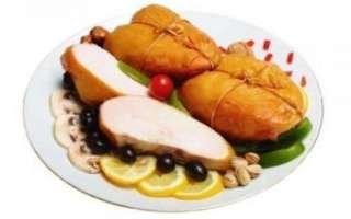 Копченая куриная грудка — калорийность и рецепт приготовления