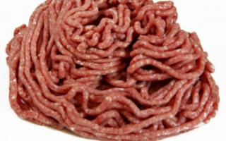 Фарш из баранины — рецепты приготовления