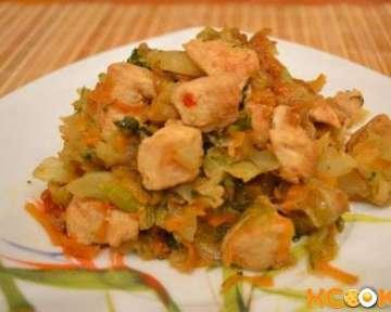 Бигус с курицей — рецепт с фото, как приготовить со свежей капустой