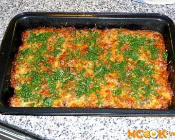 Запеканка из куриной печени – рецепт с пошаговыми фото, как приготовить в духовке с сыром и зеленью