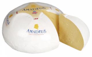 Характерные качества сыра Амадеус, его полезные свойства и применение в кулинарии