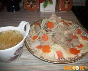 Казахский бешбармак — рецепт с пошаговыми фото, как приготовить блюдо национальной казахской кухни