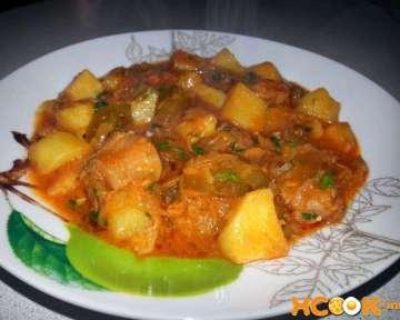Азу из телятины – пошаговый рецепт с фото, как приготовить в домашних условиях