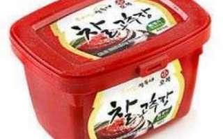Кочудян – ингредиенты для соевой пасты, чем заменить