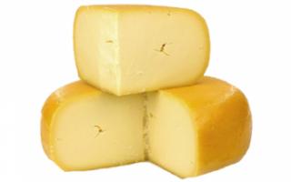 Состав твердого сыра гауда, его описание с фото, а также калорийность этого голландского продукта