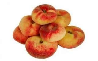 Инжирный персик — выращивание, польза и вред для организма