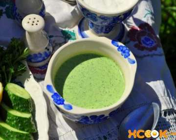 Болгарский холодный суп Таратор — рецепт с фото приготовления на кефире