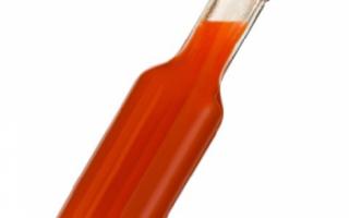 Соус табаско — калорийность, польза и вред
