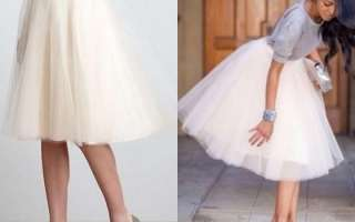 Как в домашних условиях самостоятельно накрахмалить юбку из фатина и сетки?
